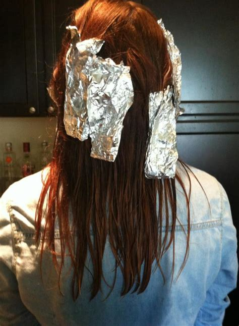 How To Apply Bleach To Foil