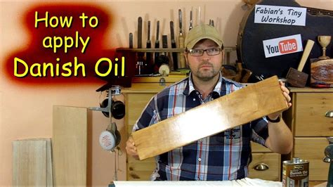 How To Apply Danish Oil Finish To Mahogany