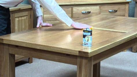 How To Apply Danish Oil To Oak Table