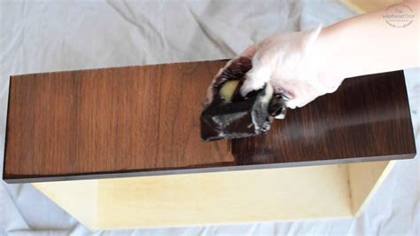 How To Apply Gel Stain On A Table