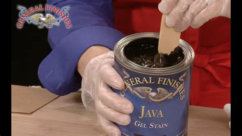 How To Apply General Finishes Gel Stain Over Raw Pine