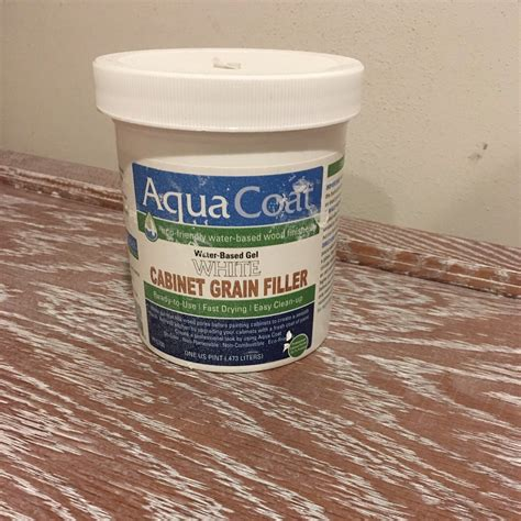 How To Apply Grain Filler On Wood
