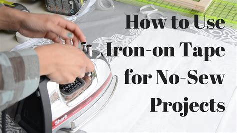 How To Apply Iron On Tape
