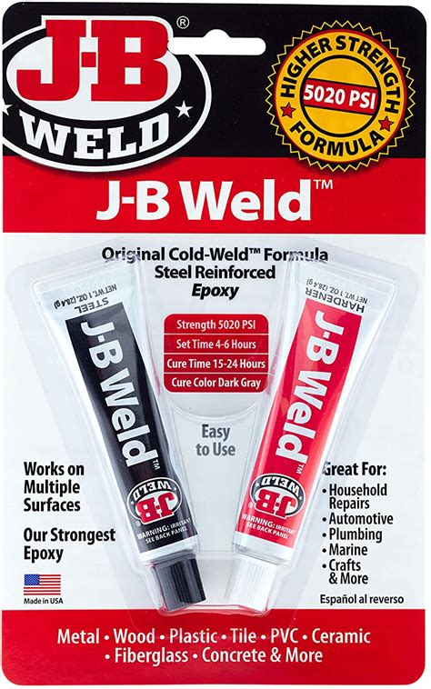 How To Apply Jb Weld In Flat Surfaces