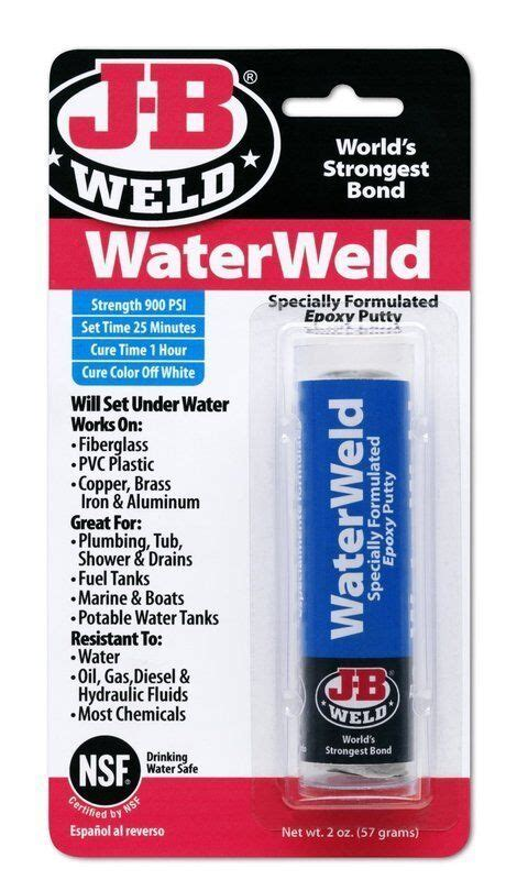 How To Apply Jb Weld Water Weld