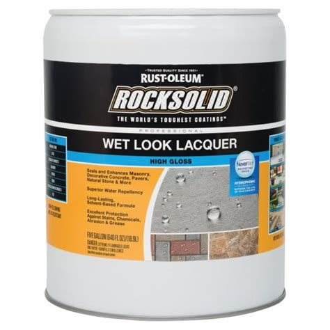 How To Apply Lacquer Concrete Seal