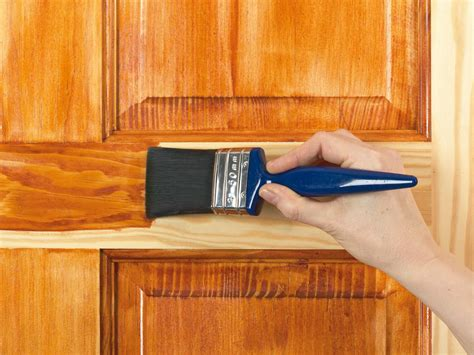 How To Apply Lacquer To Door