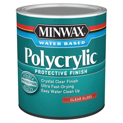 How To Apply Minwax Polycrylic Clear Gloss