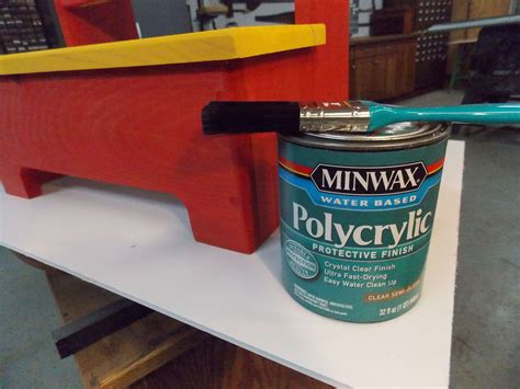 How To Apply Minwax Polycrylic To Unfinished Sanded Wood
