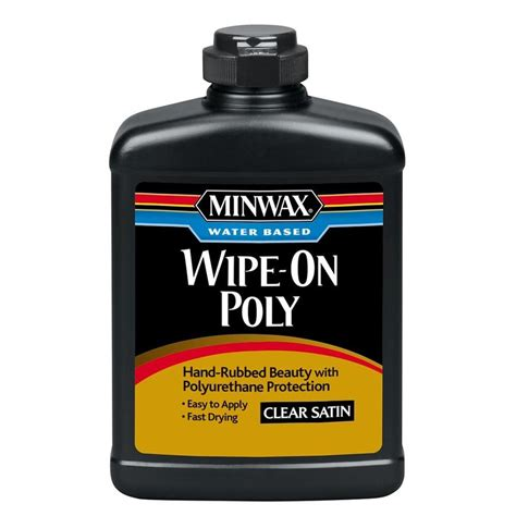 How To Apply Minwax Wipe On Polyurethane