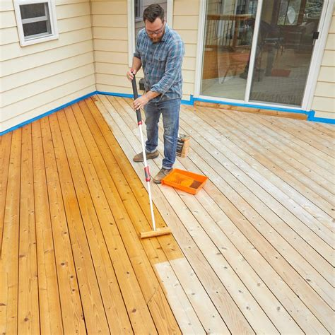 How To Apply Oil Based Stain To A Deck