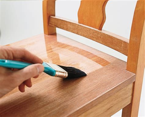 How To Apply Polyurethane To Stained Wood Furniture
