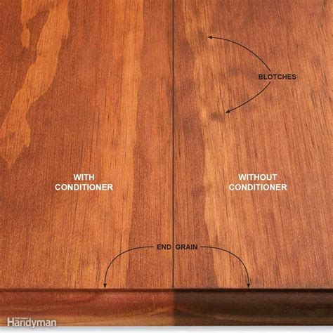 How To Apply Stain Conditioner To Pine