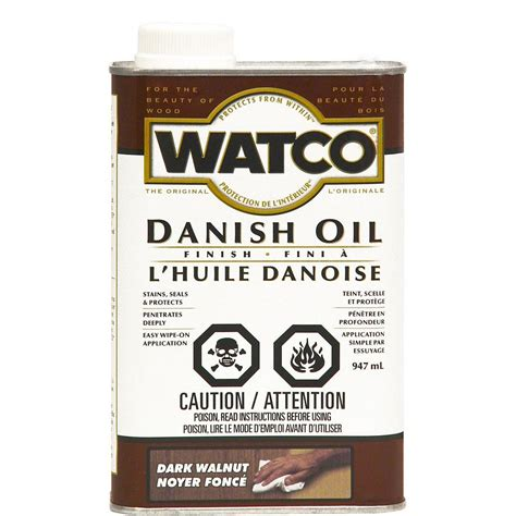 How To Apply Watco Danish Oil Finish