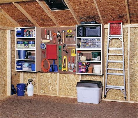 How To Arrange Garage Or Shed