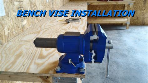 How To Attach A Bench Vise