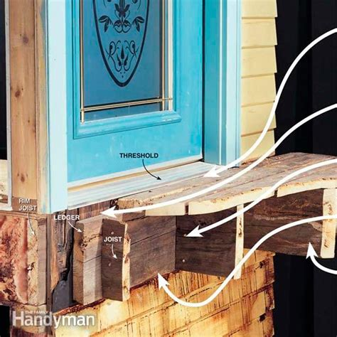 How To Attach A Deck To A House With Siding