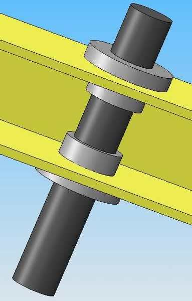 How To Attach Bearing To Shaft