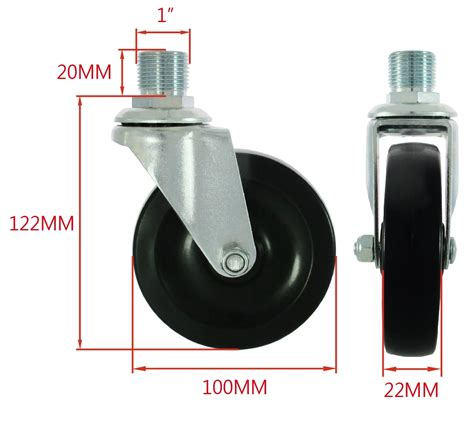 How To Attach Caster Wheels To Pvc