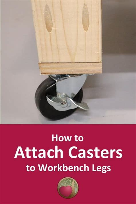 How To Attach Casters To Plywood