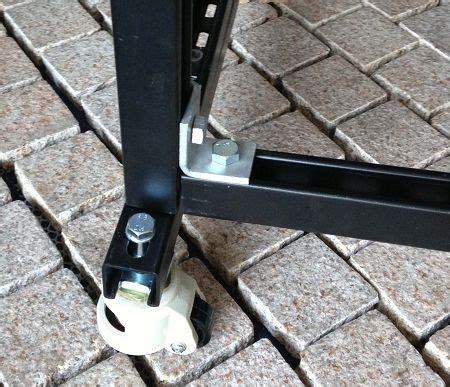 How To Attach Casters To Unistrut