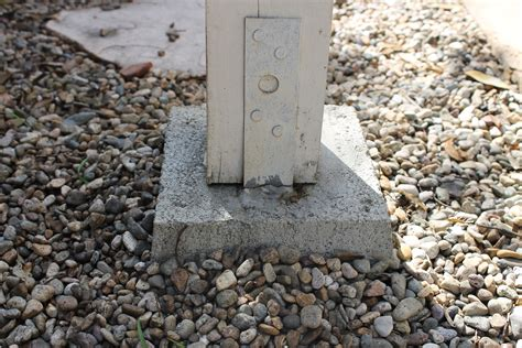 How To Attach Post To Concrete Foundation