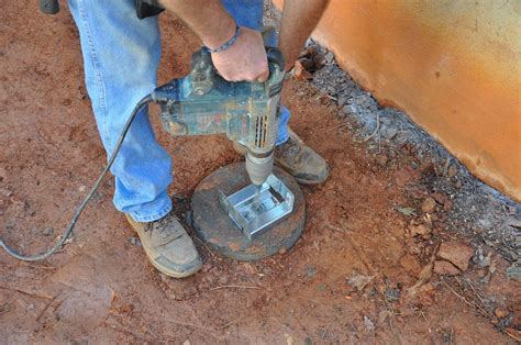How To Attach Post To Concrete Pilings