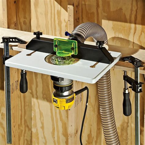 How To Attach Router To Router Tables