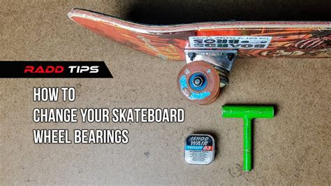 How To Attach Skateboard Bearings