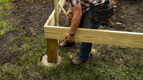 How To Attach Wood Post To Concrete Porch