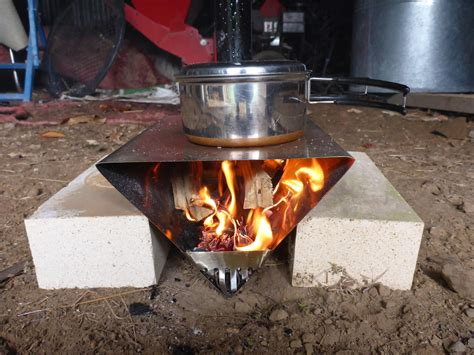 How To Backpacking Wood Stove Diy