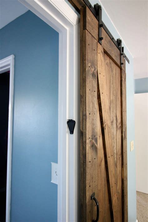 How To Barn Doors For Homes Lock
