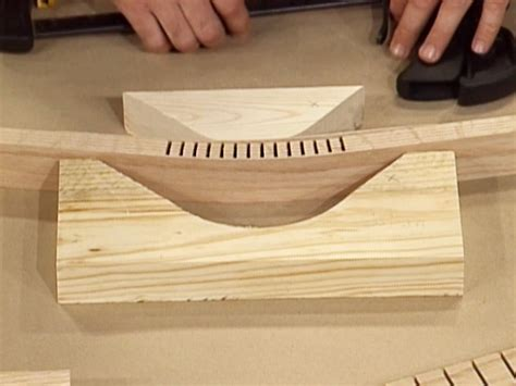 How To Bend Wood By Cuting