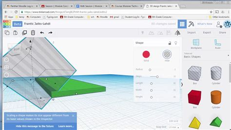 How To Bevel Edge Tinkercad
