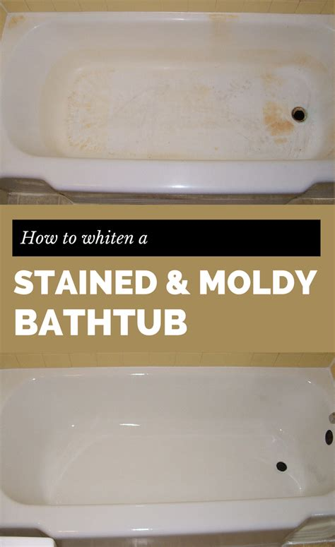 How To Bleach A Stained Bathtub