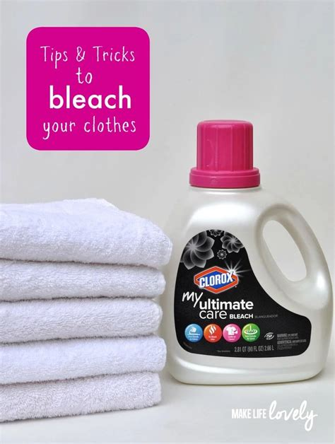 How To Bleach Colored Clothes Completely
