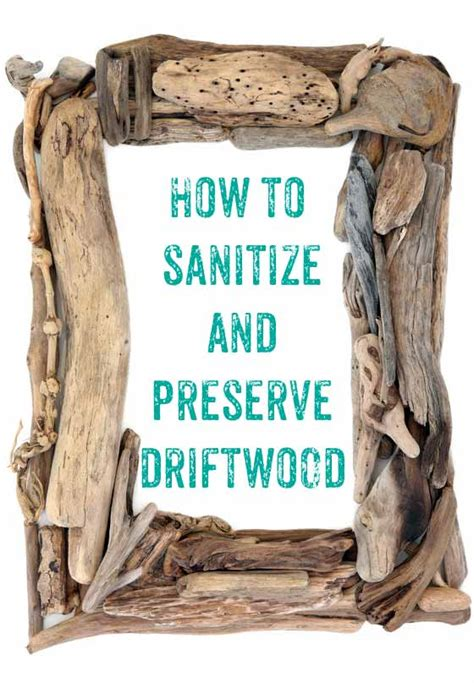 How To Bleach Driftwood