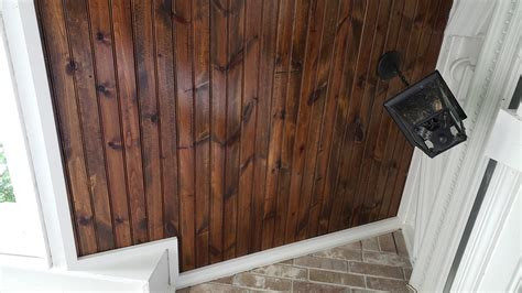 How To Bleach Lighten Dark Stained Wood