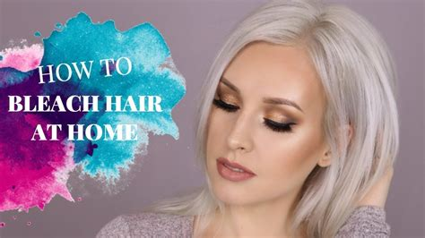 How To Bleach Your Hair Blonde