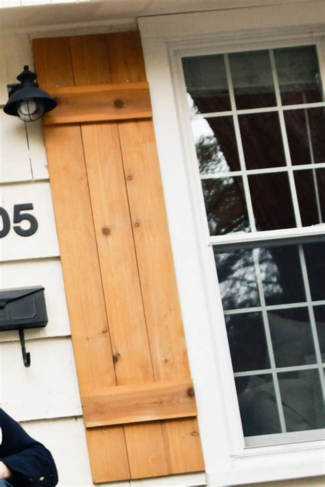 How To Brand Wood Diy Shutters
