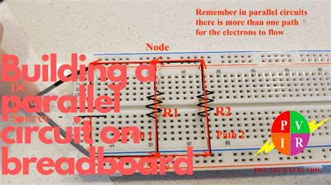 How To Breadboard A Circuit In Parallel