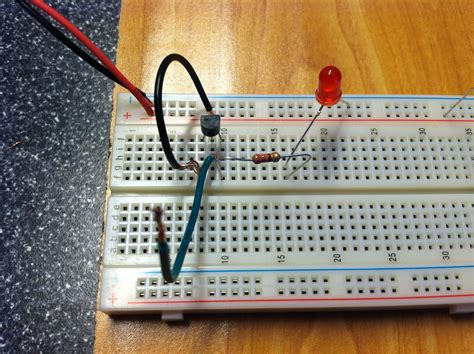How To Breadboard A Transistor