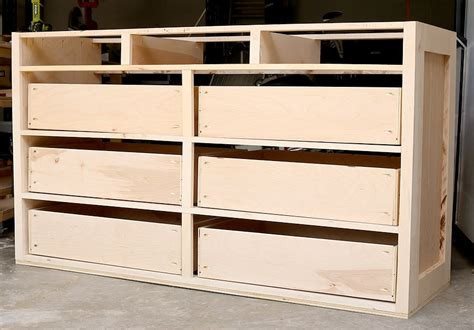 How To Build 4 Drawer Dresser