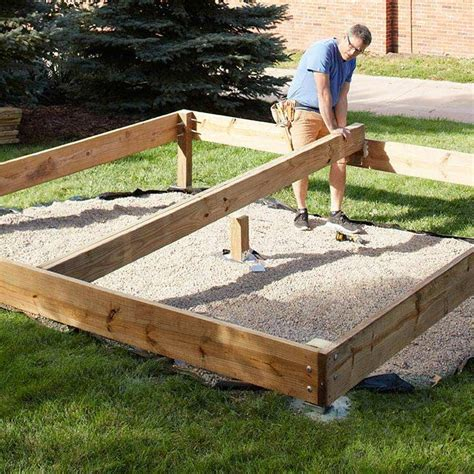 How To Build 8x10 Deck Without Holes