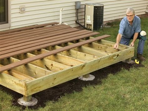 How To Build A 12x12 Freestanding Deck
