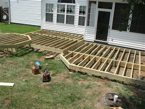 How To Build A 16x16 Ground Level Deck