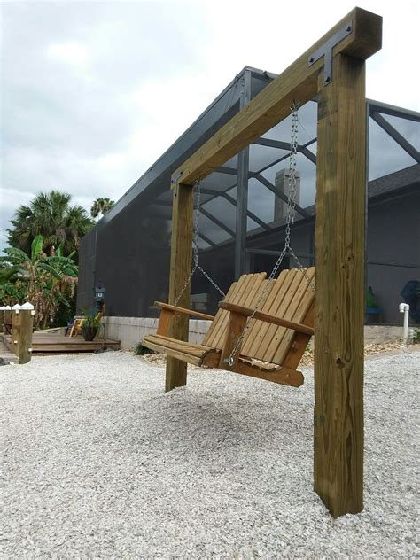 How To Build A Backyard Swing Post