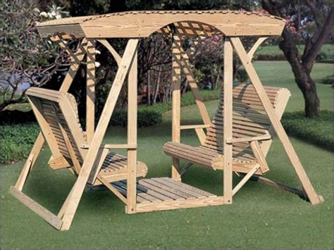How To Build A Backyard Swing With 4 By 4
