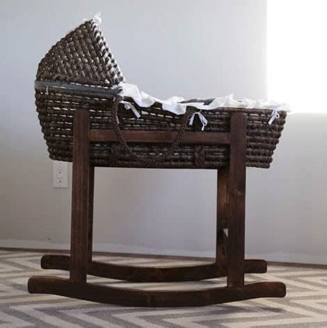 How To Build A Bassinet Stand