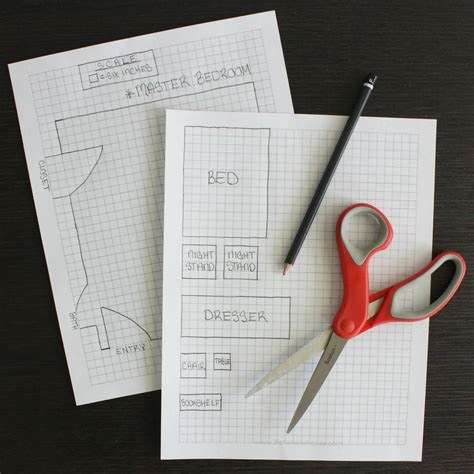 How To Build A Bedroom Set On Graph Paper